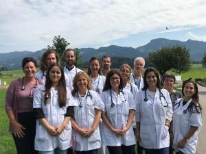 Suisse 2019 / Formation d'une équipe de mentor, examen clinique de l'aîné